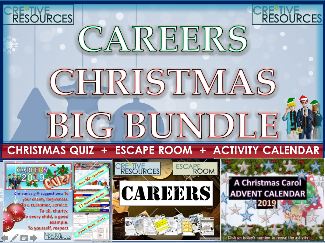 Careers Christmas 2019 Bundle