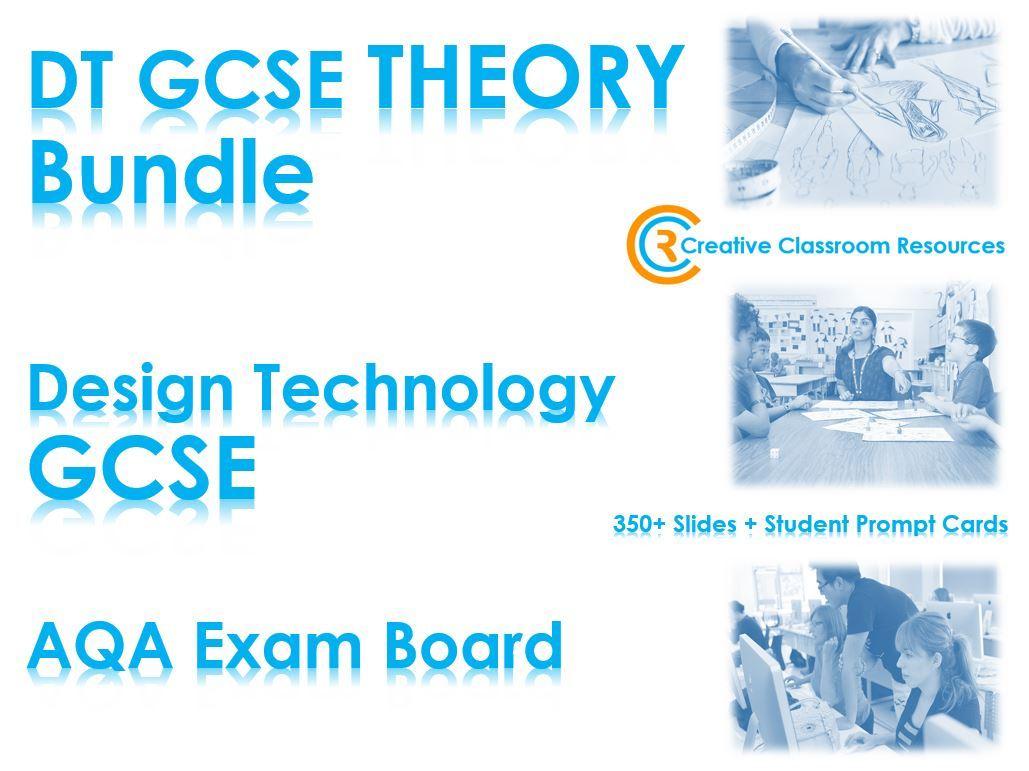 GCSE DT Theory Bundle (New Spec)