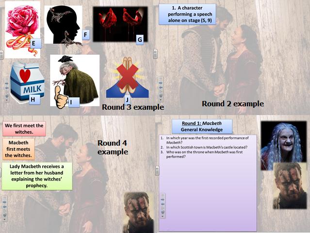 Macbeth Revision Quiz