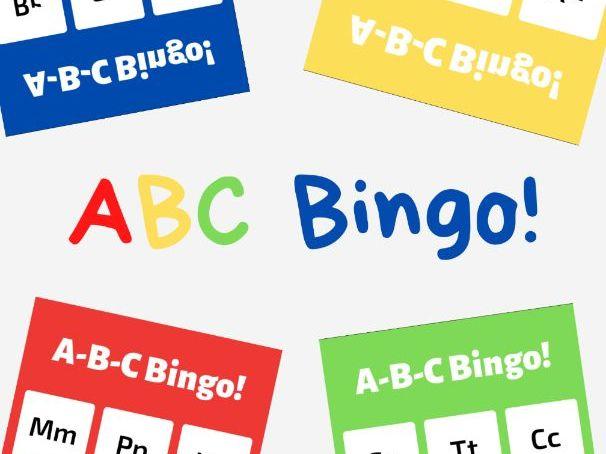 Free Printable ABC Bingo!