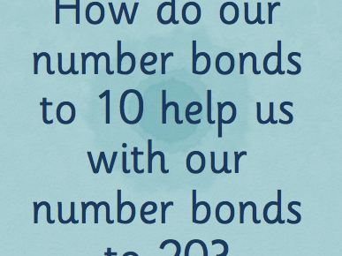 Number Bonds to 10 and 20