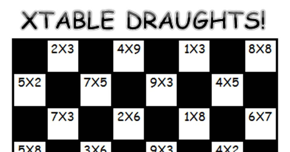 XTABLE DRAUGHTS GAME