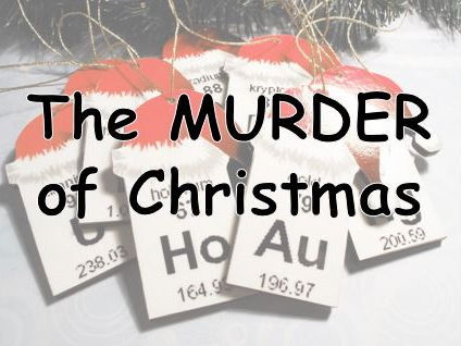 Christmas Science.  Santa Murder Mystery! Science Christmas Activity