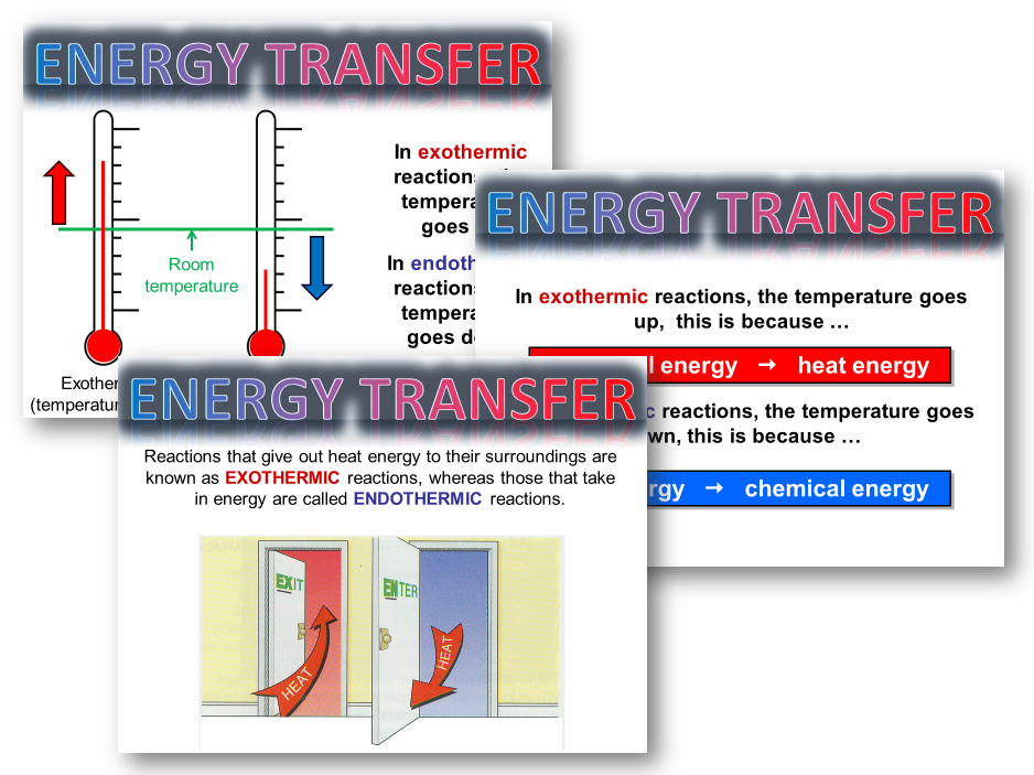 AQA Trilogy / Chemistry  - Exo and Endothermic reactions and conservation of energy