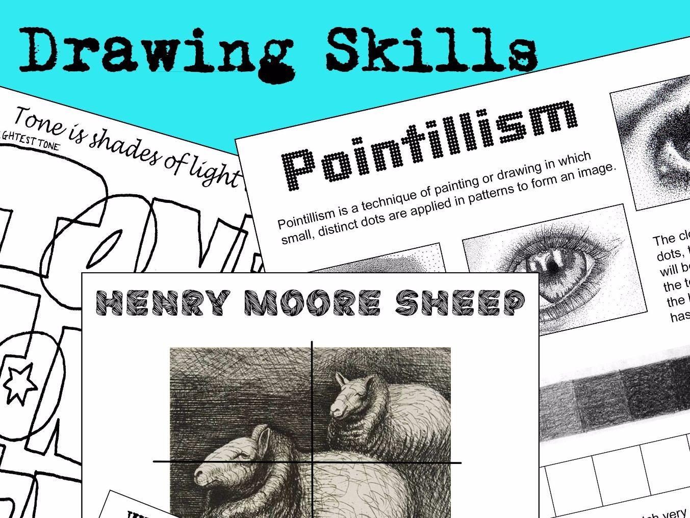 Drawing Skills Bundle
