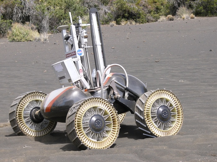 A moon buggy for Neil Armstrong