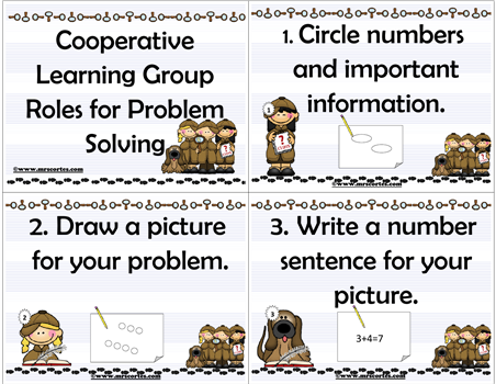 Cooperative Learning Group Roles in Problem Solving