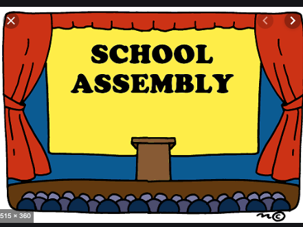 FREE Summer assembly rota/example