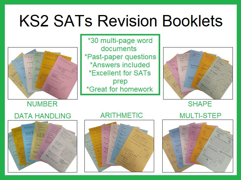 KS2 SATs Revision Booklets (Maths)
