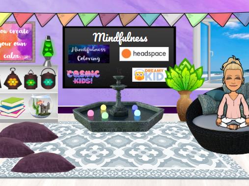Bitmoji Virtual Classroom - Mindfulness