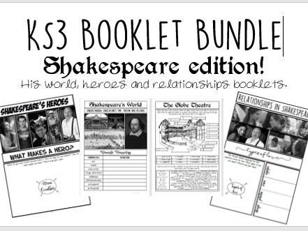 KS3 Shakespeare Booklet BUNDLE