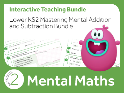 Lower KS2 Mastering Mental Addition and Subtraction Bundle