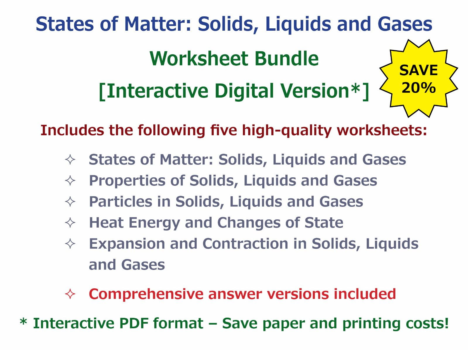 Uncategorized The Nature Of Science Worksheet Answers goodscienceworksheetss shop teaching resources tes states of matter solids liquids and gases worksheet bundle interactive digital version