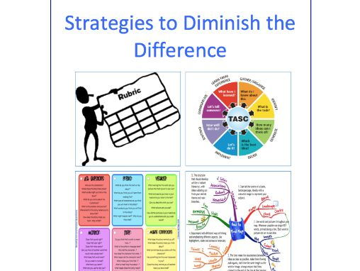 Strategies to Diminish the Difference (Narrow the Gap) between Disadvantaged and Non Disadvantaged