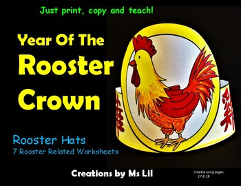 Chinese New Year 2017 Crown. ::  Year of the Rooster Hat