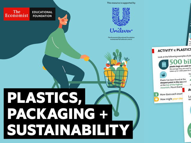 Plastics, packaging & sustainability - home learning