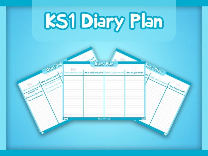 KS1 - Diary Plan Template