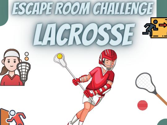 Lacrosse Escape Room