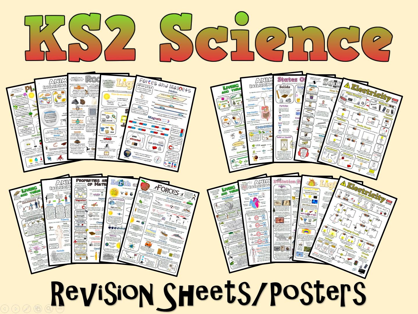 KS2 Science Posters/Revision Sheets