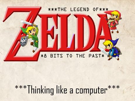 Binary 8-bits to the past Zelda Theme
