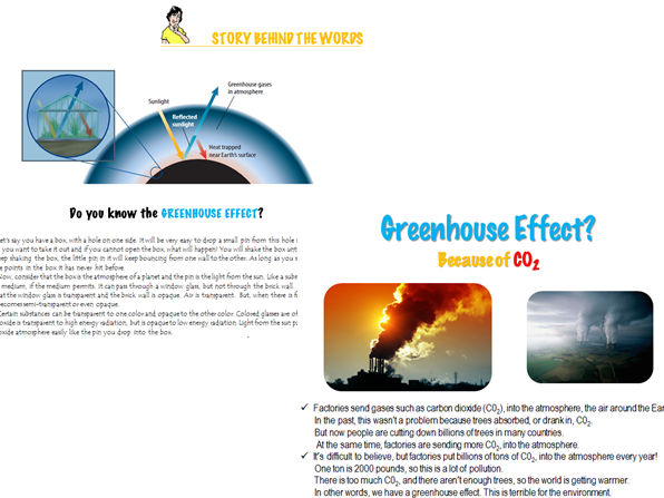 GREENHOUSE EFFECT – (Global Warming & Climate Change)