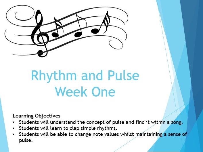 Rhythm and Pulse (KS3)
