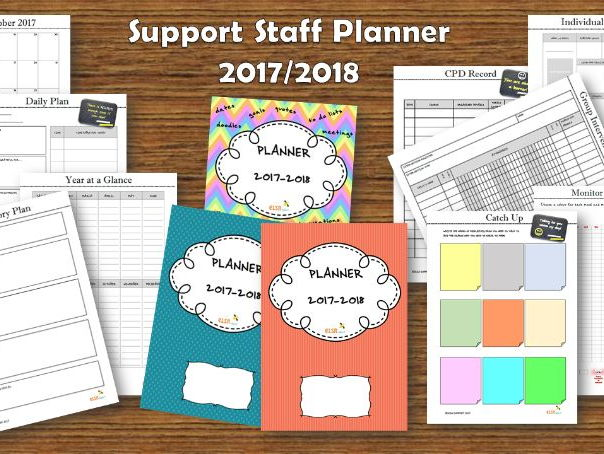 Support Staff Planner 2017/2018