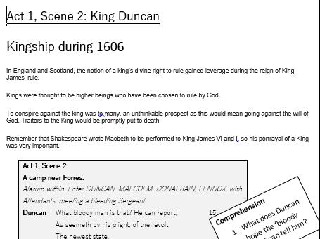 Macbeth Act 1 Scene 2