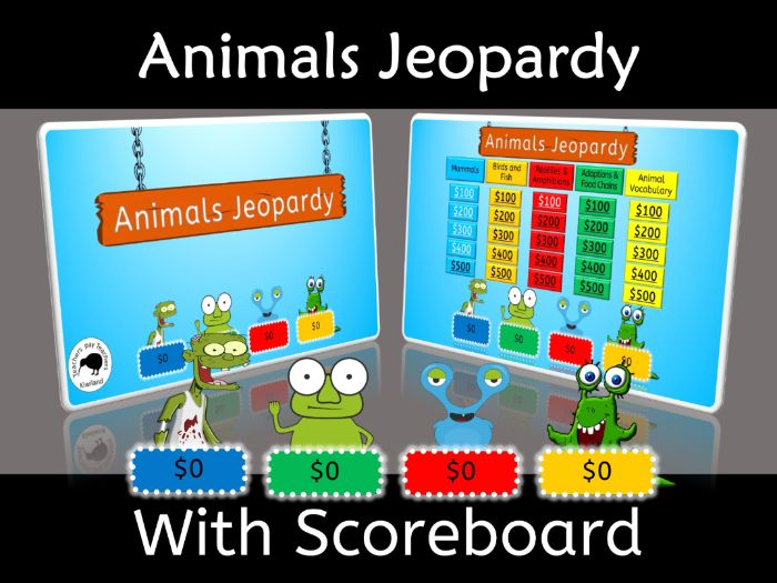 Animal Jeopardy