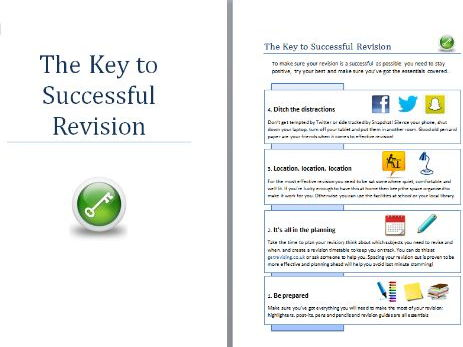 Revision strategies booklet