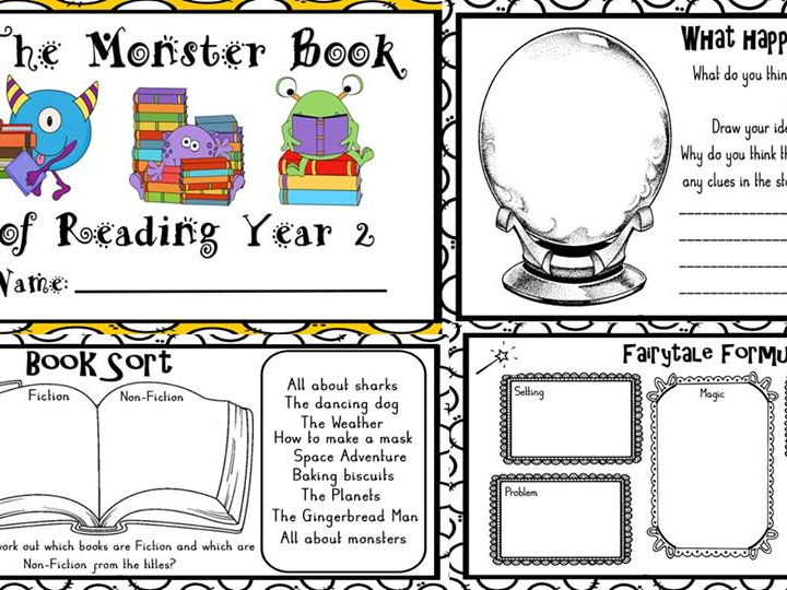 The Monster book of guided reading Year 2