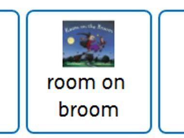 Popular Picture Books Choice Board