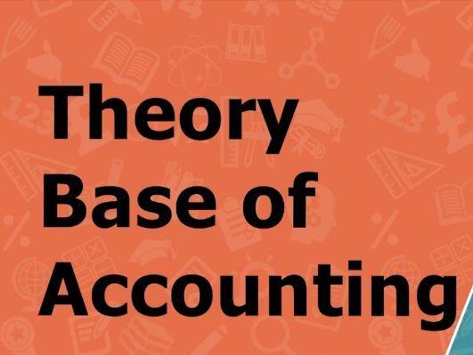 Theory Base of Accounting