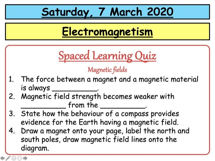 AQA GCSE (9-1) - Electromagnetism and solenoids