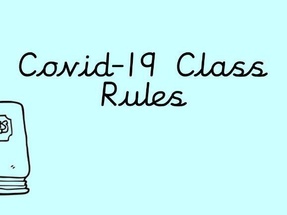 Covid-19 Class Rules