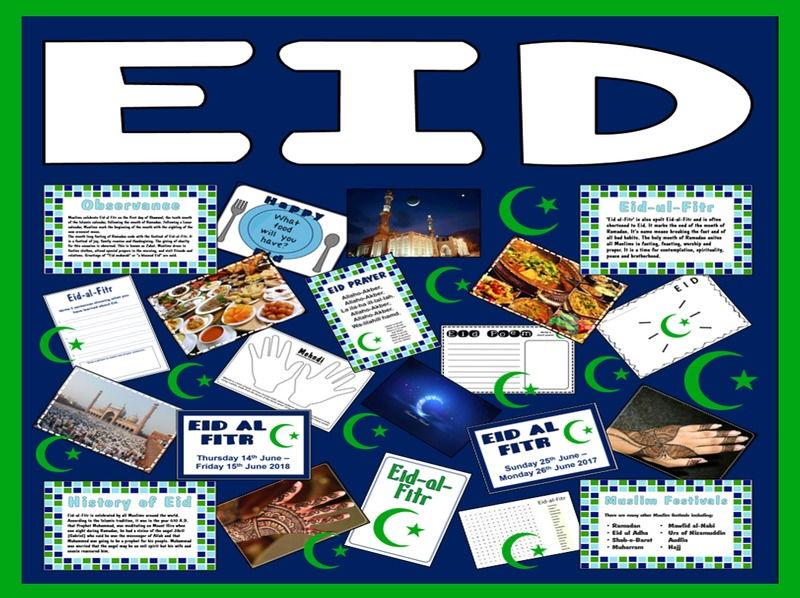 EID UL FITR RESOURCES KS2 ( ISLAM MUSLIM RAMADAN ALLAH MUHAMMED ) FESTIVAL