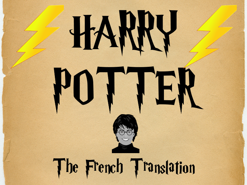 Harry Potter in French