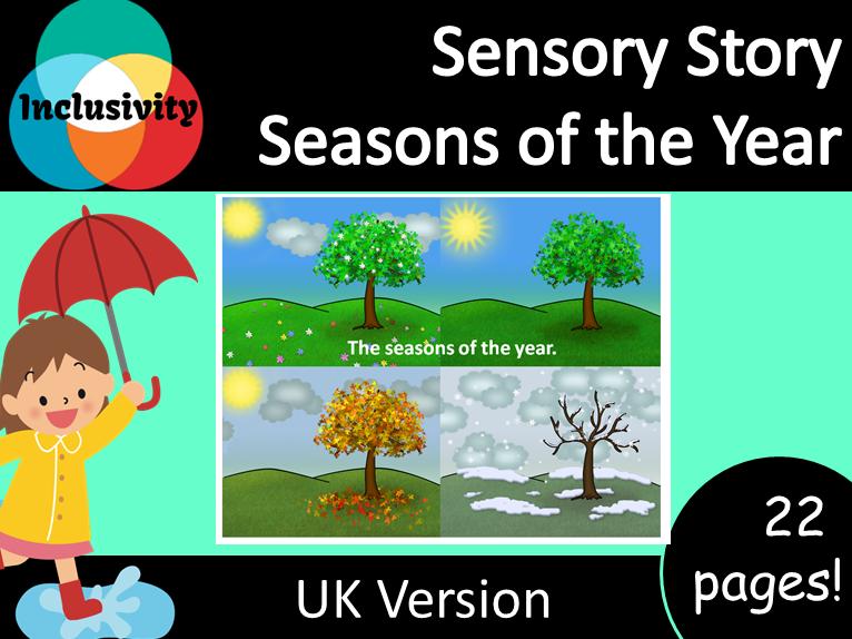 Sensory Story; Seasons of the Year - UK Version