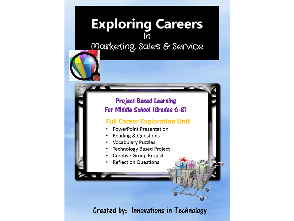 Exploring Careers:  Marketing, Sales & Service