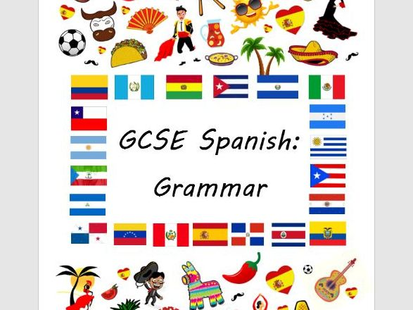 GCSE Spanish: Grammar Revision Book