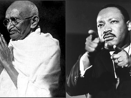 Ghandi: passive resistance