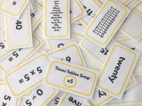 Times Tables Snap ALL