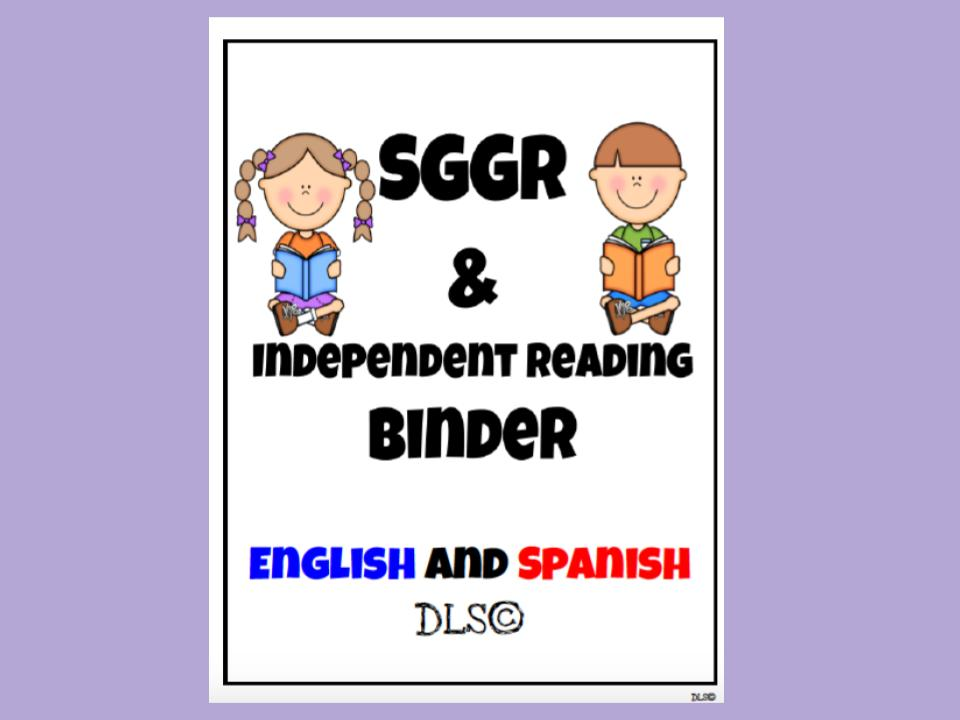Independent and Guided Reading English and Spanish