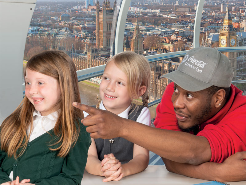 The London Skyline (Ages 7-13) - The Coca-Cola London Eye resource