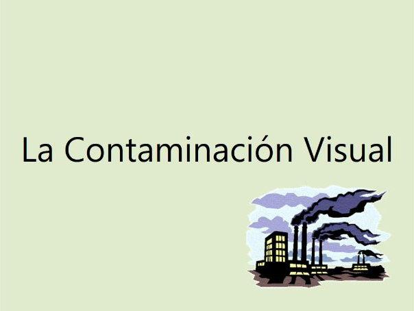 La Contaminación Visual (A2 Spanish)