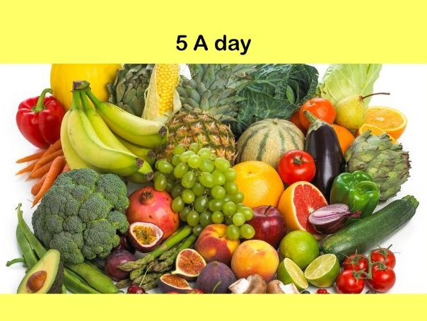 Nutrition: 5 A day