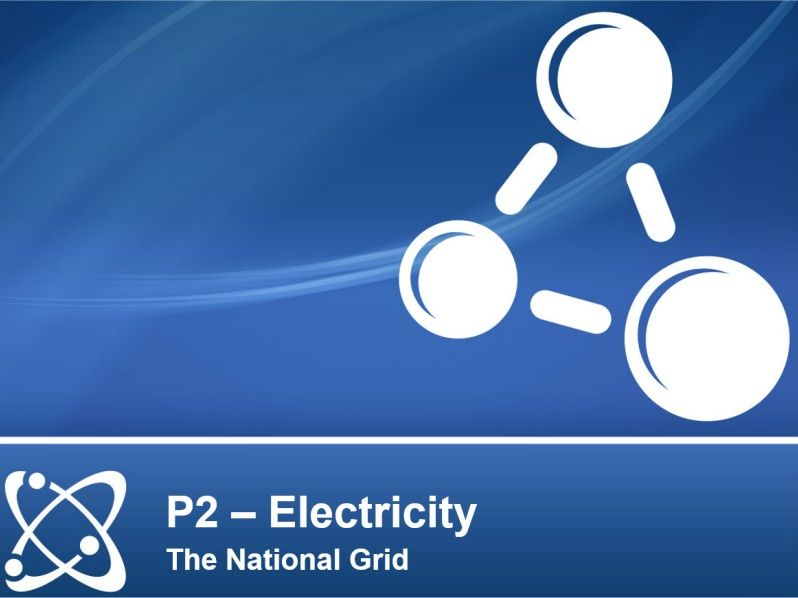 NEW AQA PHYSICS GCSE - ELECTRICITY - Lesson 9 – The National Grid