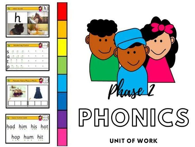 Phase 2 Phonics Unit of Work