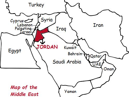 JORDAN - Introductory Geography Worksheet