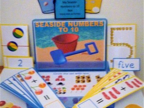 Seaside Numbers to 10